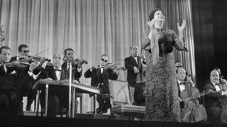 The late Umm Kulthum, seen here in 1967, enjoys legendary status across the Middle East