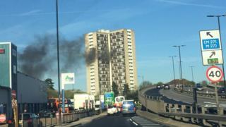 Redbridge Towers fire