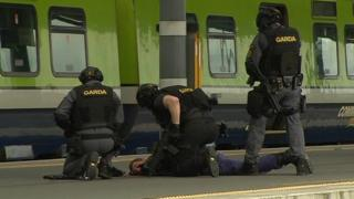 Gardai mock terrorism exercise