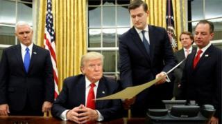 Donald Trump ve Rob Porter