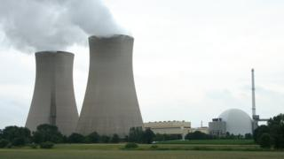Dis na di nuclear power plant for Grohnde, wey dey for Germany