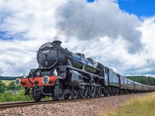 Lancashire Fusilier train