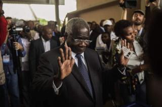 Kinara mkuu wa vuguvugu la waasi nchini Msumbiji, Afonso Dhlakama