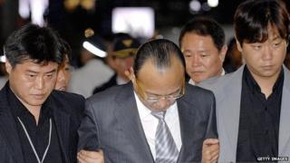 Hanwha group chairman Kim Seung-youn