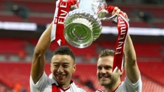 Manchester United ta dauki kofin FA na bara