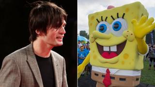 Jonny Greenwood and Spongebob Squarepants