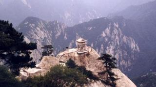 One of the Huashan mountain peaks in Shangshi province, China