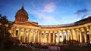 Igitero biravugwa ko cyari kwibasira katedalari ya Kazan i St Petersburg