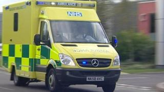 North East Ambulance Service vehicle