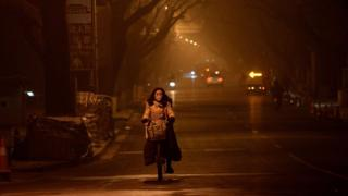 смог в Пекине