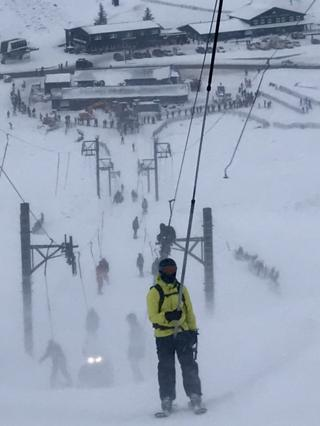 Skiing on Glenshee