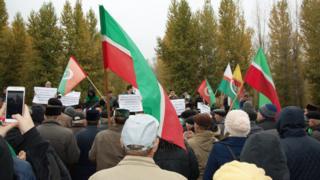 Митинг татарских националистов в Казани