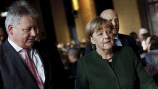 Бруно Каль та Ангела Меркель