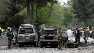 Vụ tấn công xảy ra tại khu đông người qua lại ở trung tâm Kabul.