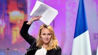 Marion Maréchal-Le Pen (file pic April 2017)