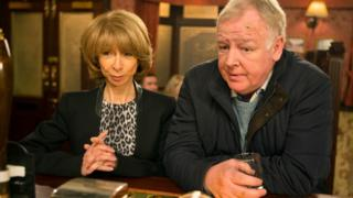 Helen Worth and Les Dennis