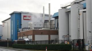 Muller dairy site in Market Drayton