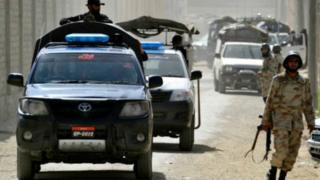 پاکستان سکیورٹی فورسز