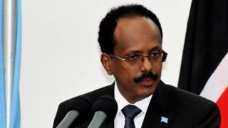 Le président somalien Mohamed Abdullahi Farmajo