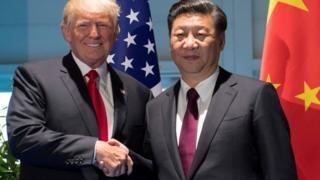 Трамп и Си Цзиньпинь