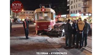 Фото с места аварии депутата