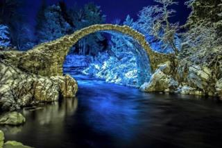 Carrbridge at Christmas