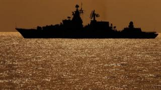 """силуэт корабля """"Вице-адмирал Кулаков"""""""