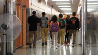 kids at Wilson high school