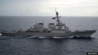 เรือ USS Decatur ของกองทัพสหรัฐฯ เคยแล่นเข้าใกล้หมู่เกาะพาราเซลเมื่อปี 2016