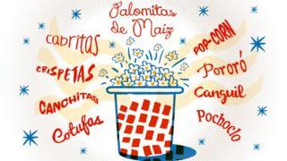 Las varias maneras en las que se le dice a las palomitas en español