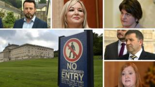 Power-sharing talks Stormont