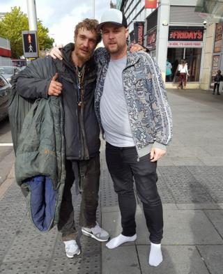 Mark (left) and Craig Wells