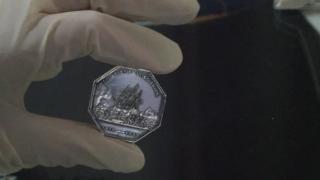 Arctic medal close up