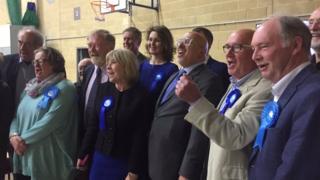 Conservatives celebrate in Warwickshire