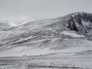 Northern Cairngorms on 15 April