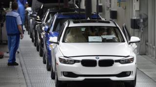 BMW production line