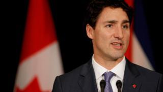 Canadian Prime Minister Justin Trudeau