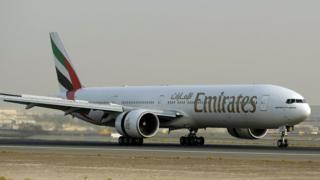 طائرة بوينغ تابعة لطيران الإمارات
