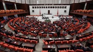 Türkiye Büyük Millet Meclisi salonun