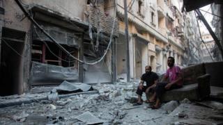 Kumeshuhudiwa mashambulio ya makombora mashariki mwa Aleppo pia