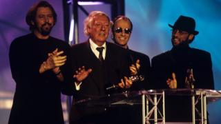 Robert Stigwood and the Bee Gees