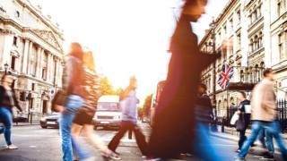 London pedestrians