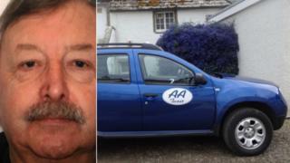 Robert Stevenson and taxi
