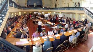 Election count in Winchester