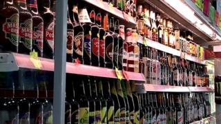 Bottles of drink