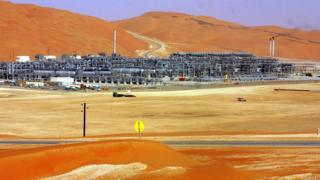 Shaybah oil field