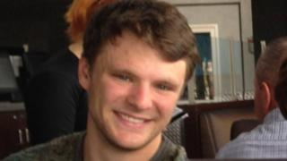 Otto Frederick Warmbier smiling in a photo taken from Facebook