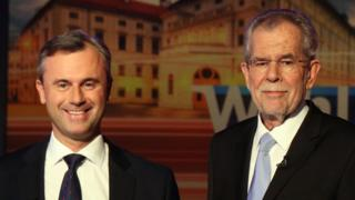 Кандидаты в президенты Австрии