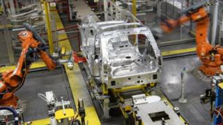 Automation in car factory