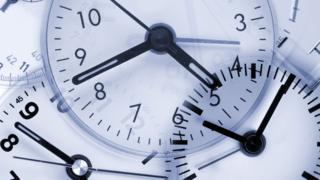 Collage of clocks